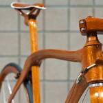 Sanomagic cykel af maghoni træ