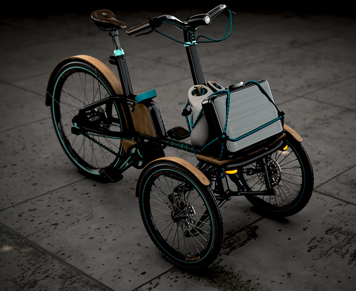 Design ladcykler