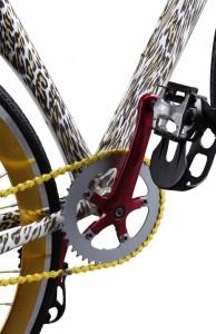 Unik designet cykel detalje