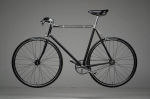 Fed old school singlespeed cykel - motification