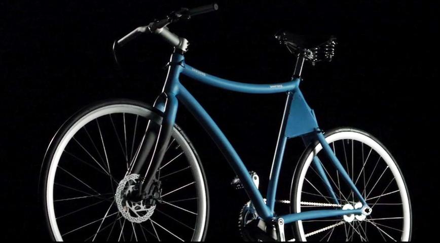 "Samsung ""Smart"" cykel af Giovanni Pelizzoli og Alice Biotti"