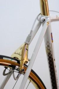 Guld cykelbagbremse