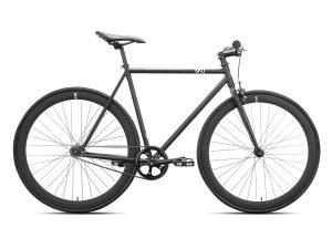 6KU Nebula 1 Fixie Singlespeed cykel - Sort