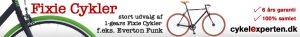 Fixie Cykler fra Cykelexperten.dk