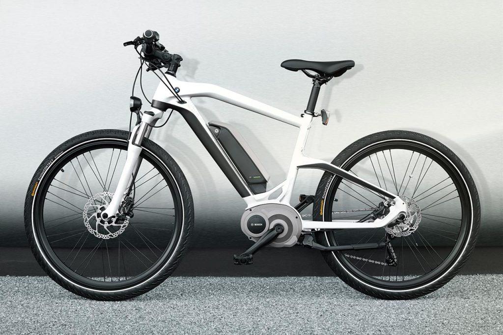 BMW Elcykel - Cruise e-Bike hvid