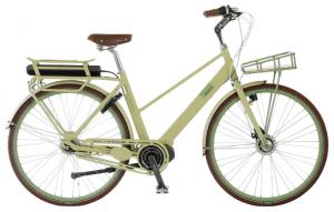 Kildemoes Qharma El 7g Dame RB Oliven STePS el cykel