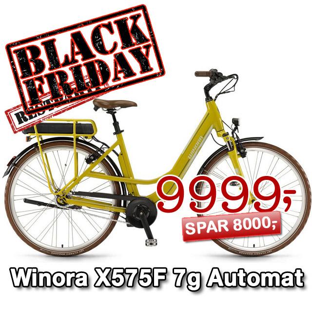 El cykel til næsten halv pris - Winora X575F 7g Automat